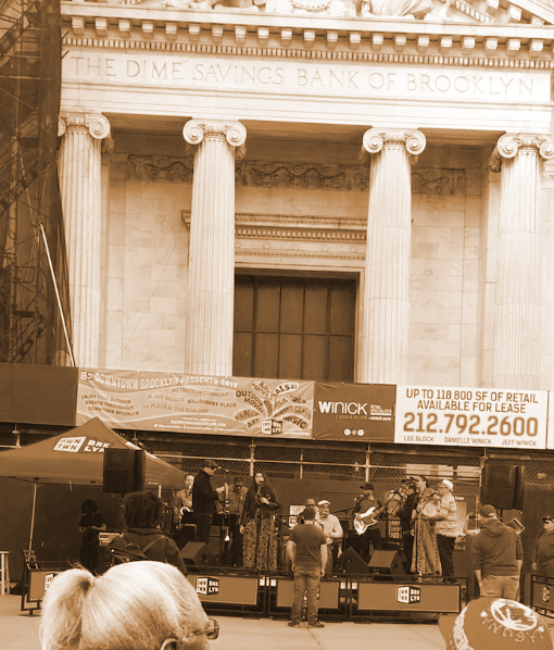 concert at Albee Square photo